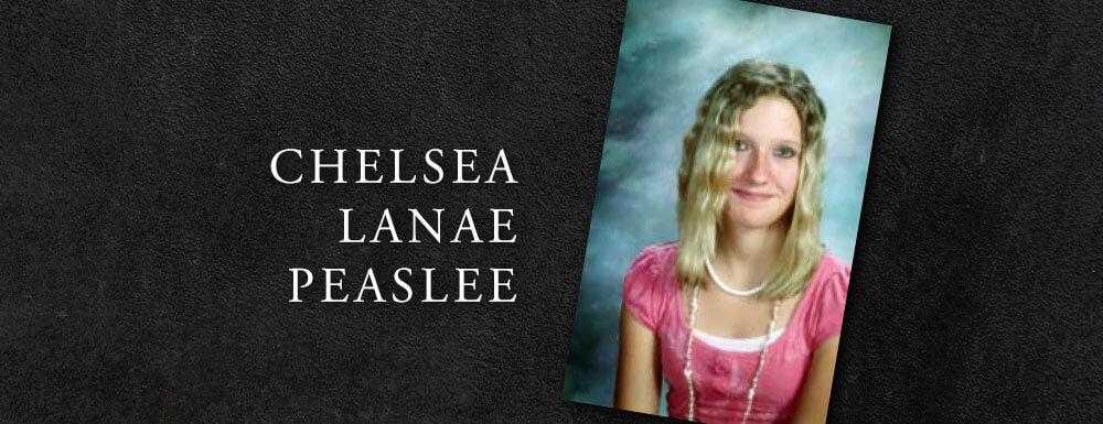 chelsea peaslee teen memoriam fatalities utah