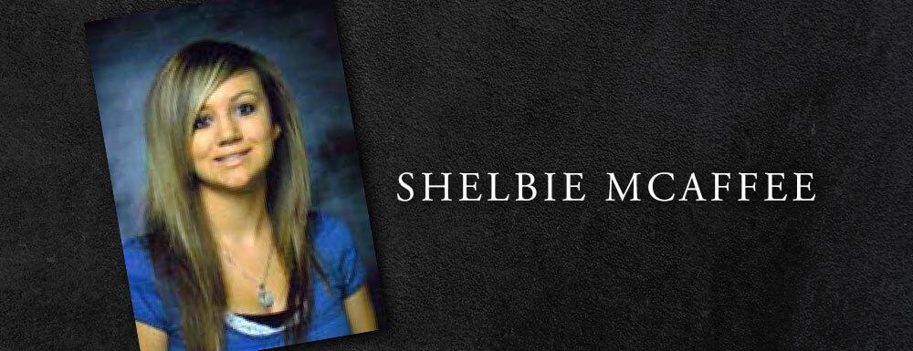 shelbie mcaffee teen memoriam teen seat belt