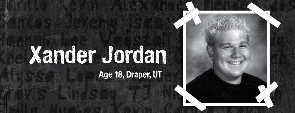 xander jordan teen memoriam 2008